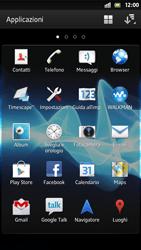 Sony Xperia S - Applicazioni - Configurazione del negozio applicazioni - Fase 3