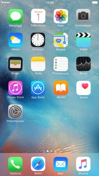 Apple iPhone 6 Plus iOS 9 - Operazioni iniziali - Personalizzazione della schermata iniziale - Fase 8