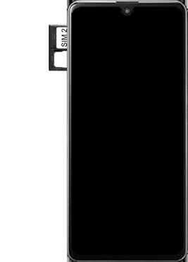 Samsung Galaxy A41 Dual-SIM (SM-A415F) - Instellingen aanpassen - SIM-Kaart plaatsen - Stap 6