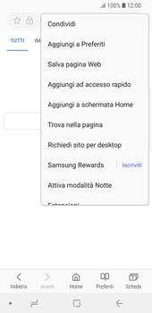 Samsung Galaxy S9 - Internet e roaming dati - Uso di Internet - Fase 8