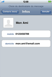 Apple iPhone 4 - MMS - Envoi d