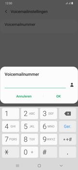 Samsung Galaxy A30 - voicemail - handmatig instellen - stap 11