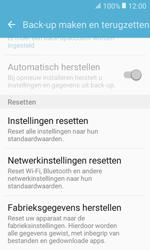 Samsung Galaxy Xcover 3 VE (SM-G389F) - Instellingen aanpassen - Fabrieksinstellingen terugzetten - Stap 6