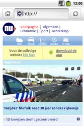 Alcatel OT-991 Smart - Internet - hoe te internetten - Stap 11