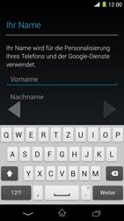 Sony Xperia Z1 - Apps - Konto anlegen und einrichten - Schritt 5