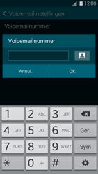 Samsung G900F Galaxy S5 - Voicemail - handmatig instellen - Stap 8