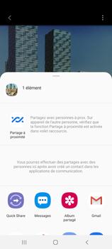 Samsung Galaxy Note20 - Photos, vidéos, musique - Créer une vidéo - Étape 17