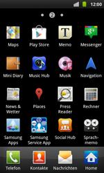 Samsung Galaxy S Plus - Apps - Konto anlegen und einrichten - 3 / 20