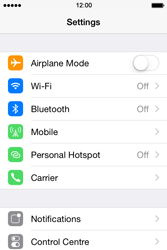 Apple iPhone 4 S - iOS 8 - MMS - Manual configuration - Step 3