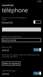 Nokia Lumia 930 - Messagerie vocale - Configuration manuelle - Étape 8