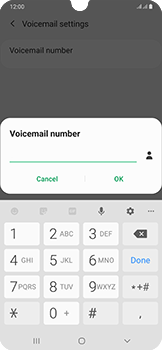 Samsung Galaxy A50 - Voicemail - Manual configuration - Step 11