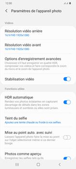 Samsung Galaxy S20+ - Photos, vidéos, musique - Créer une vidéo - Étape 8