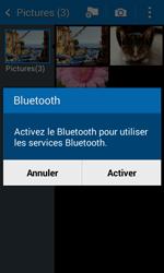 Samsung Galaxy Trend 2 Lite - Photos, vidéos, musique - Envoyer une photo via Bluetooth - Étape 10