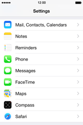 Apple iPhone 4 S - iOS 8 - MMS - Manual configuration - Step 10