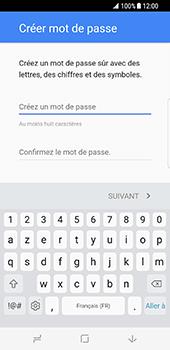 Samsung Galaxy S8 - Applications - Créer un compte - Étape 12