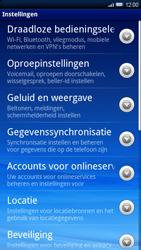 Sony Xperia X10 - Internet - Handmatig instellen - Stap 4