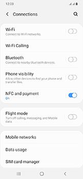 Samsung Galaxy A20e - Internet - Disable mobile data - Step 5