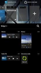 HTC One Max - Operazioni iniziali - Installazione di widget e applicazioni nella schermata iniziale - Fase 5