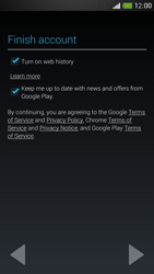 HTC One Mini - Applications - Setting up the application store - Step 17