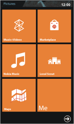 Nokia Lumia 800 / Lumia 900 - Getting started - Personalising your Start screen - Step 8