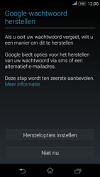 Sony Xperia E4g (E2003) - Applicaties - Account aanmaken - Stap 11