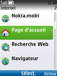 Nokia C2-01 - Internet - navigation sur Internet - Étape 3