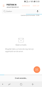 Samsung Galaxy A8 (2018) - E-mail - E-mails verzenden - Stap 20