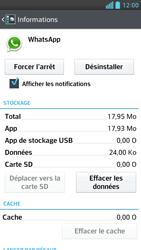 LG Optimus F6 - Applications - Supprimer une application - Étape 6