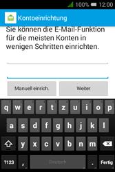 Alcatel OT-4009D Pixi 3 (3.5) - E-Mail - Konto einrichten - Schritt 11