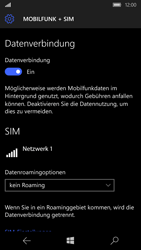 Microsoft Lumia 650 - Ausland - Im Ausland surfen – Datenroaming - 1 / 1
