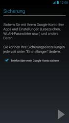 Alcatel One Touch Idol - Apps - Einrichten des App Stores - Schritt 22