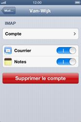 Apple iPhone 4 S - E-mail - Configuration manuelle - Étape 15