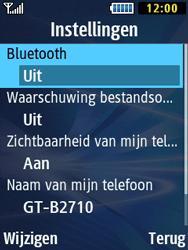 Samsung B2710 Xcover 271 - Bluetooth - Aanzetten - Stap 6