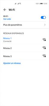 Huawei P40 - Internet et connexion - Accéder au réseau Wi-Fi - Étape 7