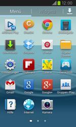 Samsung I9105P Galaxy S2 Plus - E-Mail - Konto einrichten - Schritt 3