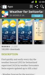Samsung Galaxy S Advance - Applications - Installing applications - Step 14