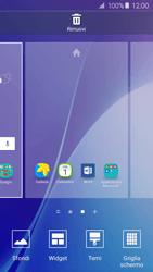 Samsung Galaxy A5 (2016) (A510F) - Operazioni iniziali - Installazione di widget e applicazioni nella schermata iniziale - Fase 4