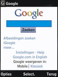 Nokia 2730 classic - internet - hoe te internetten - stap 6