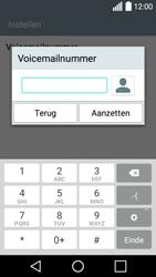 LG Leon 3G (H320) - voicemail - handmatig instellen - stap 8