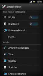 Sony Xperia U - Internet und Datenroaming - Deaktivieren von Datenroaming - Schritt 4