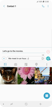 Samsung Galaxy S9 Plus - MMS - Sending pictures - Step 13