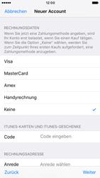 Apple iPhone 7 - Apps - Konto anlegen und einrichten - Schritt 18