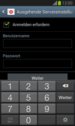 Samsung Galaxy Trend Lite - E-Mail - Manuelle Konfiguration - Schritt 13