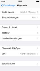 Apple iPhone 5 mit iOS 7 - Fehlerbehebung - Handy zurücksetzen - Schritt 6