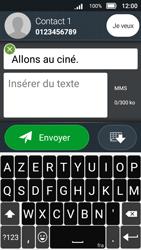Doro 8031 - Contact, Appels, SMS/MMS - Envoyer un MMS - Étape 14