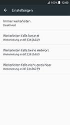 HTC U Play - Anrufe - Rufumleitungen setzen und löschen - Schritt 6