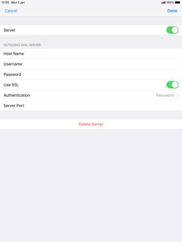 Apple iPad mini 4 iOS 12 - E-mail - Manual configuration POP3 with SMTP verification - Step 19