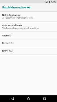 Huawei Nexus 6P - Android Oreo - Netwerk - Handmatig een netwerk selecteren - Stap 9