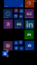 Nokia Lumia 1320 - Getting started - Personalising your Start screen - Step 9