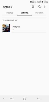 Samsung Galaxy A6 - Photos, vidéos, musique - Envoyer une photo via Bluetooth - Étape 5